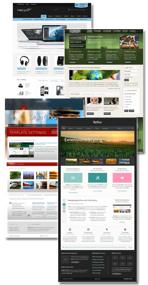 Sample CMS Templates